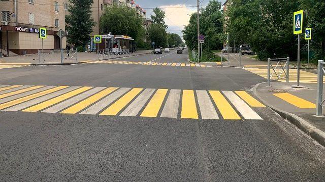 В Казани по нацпроекту отремонтировали часть улицы Гагарина