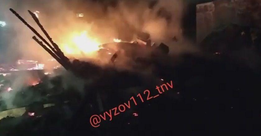 Под Казанью на месте будущей дороги-дублера Горьковского шоссе сгорел дом