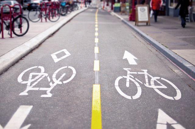 На улице Большая Красная в Казани в этом году появится велодорожка