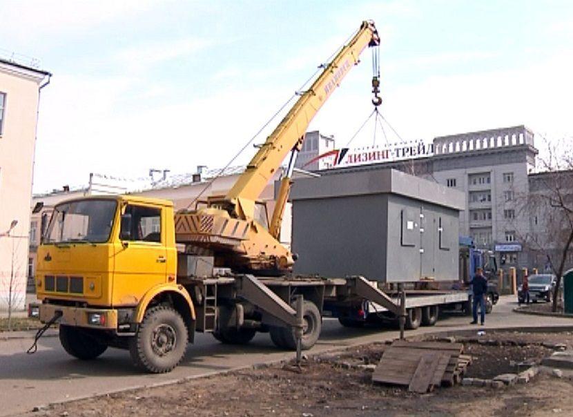 В Казани продолжают сносить незаконные торговые точки