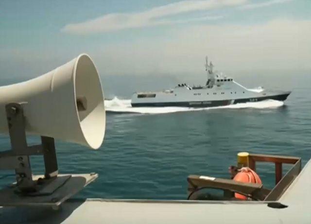 Журналист БиБиСи опубликовал видео с борта нарушившего границу РФ эсминца Defender