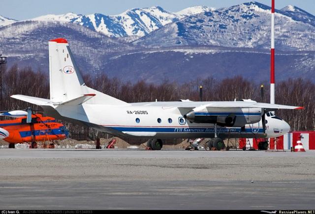 Камчаткада Ан-26 пассажир самолеты югалган
