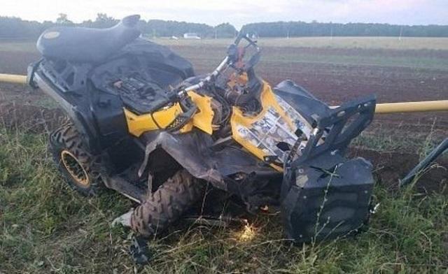 Под Челнами водитель квадроцикла погиб при столкновении с ограждением