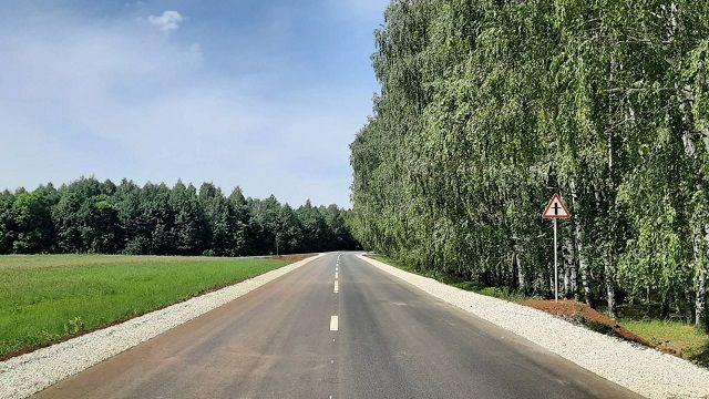 В Татарстане в рамках нацпроекта завершили ремонт участка дороги Елабуга — Гари — Абалач