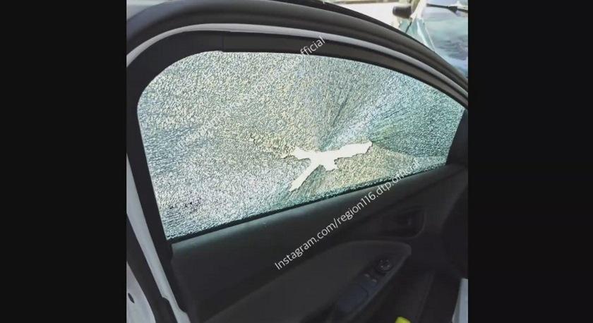 Расстрелявшие припаркованную машину татарстанцы попали на видео
