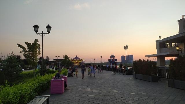 В Казани увеличат прогулочную зону на набережной Казанки