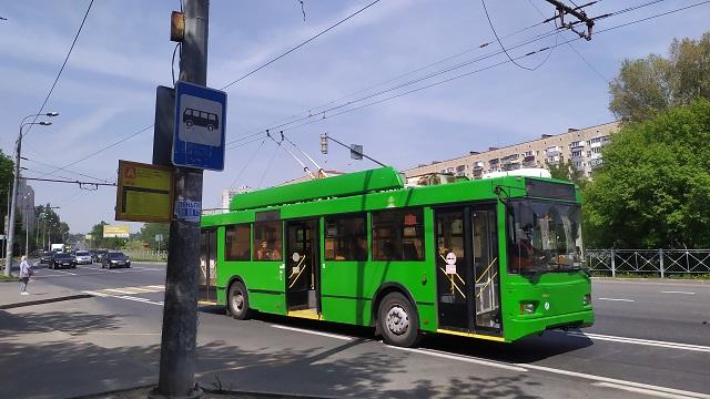 В Казани вышли из строя троллейбусы №13