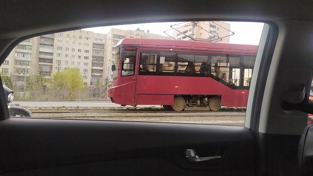 В Казани трамвай №5 будет ходить по сокращенному маршруту из-за реконструкции путей