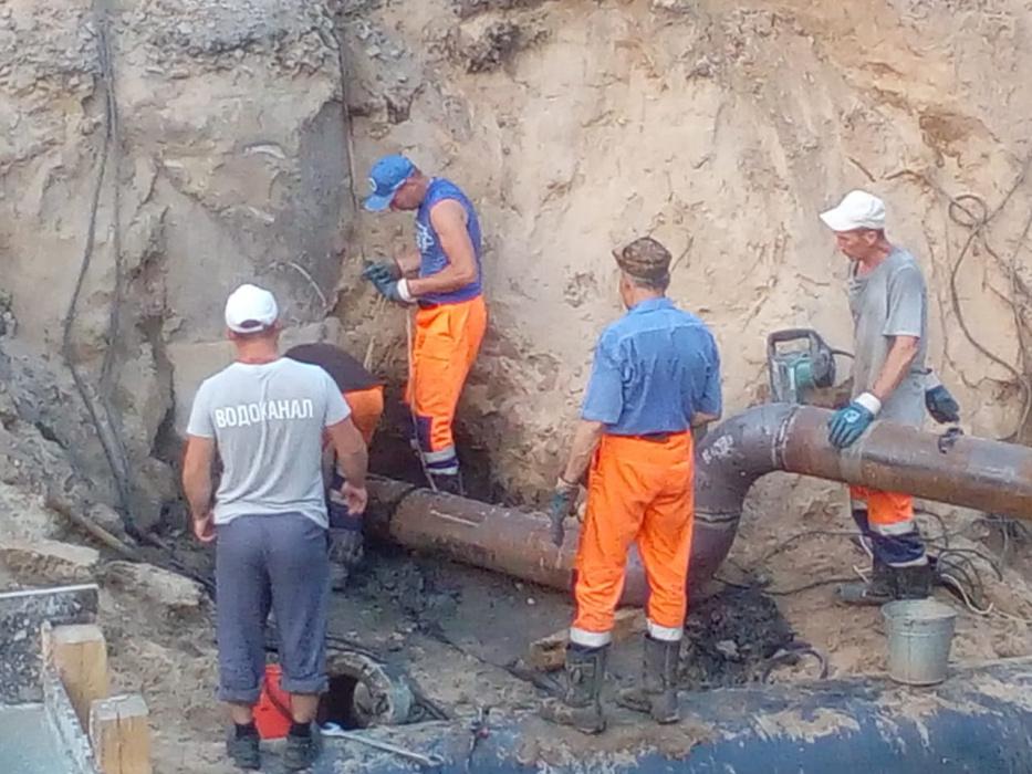 Водоканал прояснил ситуацию с аварией на водопроводе в центре Казани