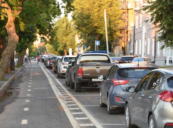 В Казани появятся еще 2 400 платных парковочных мест
