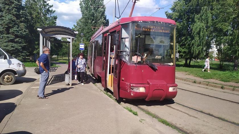27 июля казанские трамваи №5 и №5а на время сократят маршрут