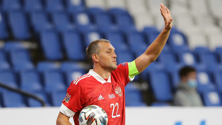 Карпин рассказал о будущем Дзюбы в сборной России по футболу