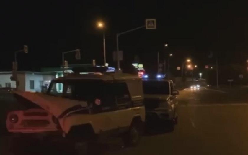 В МВД прокомментировали столкновение двух патрульных экипажей в Казани