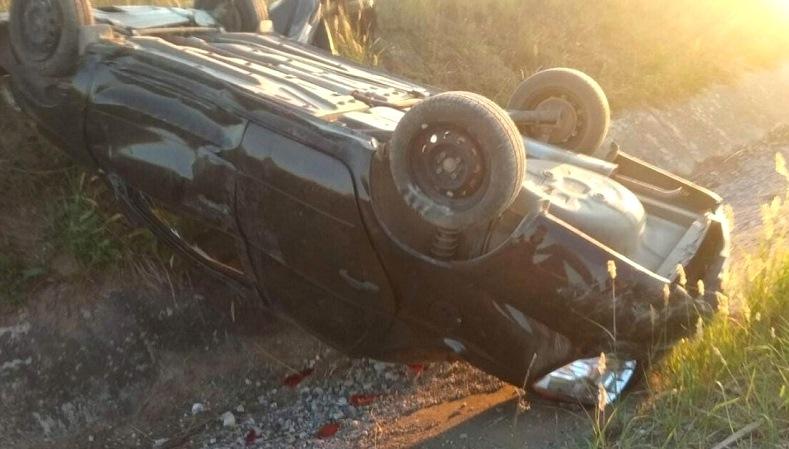 В Татарстане погиб пассажир перевернувшейся на трассе легковушки