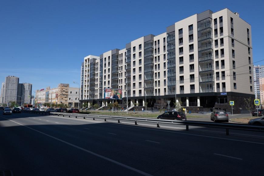 В Казани начинают заселять долгострой в ЖК «Золотая середина»