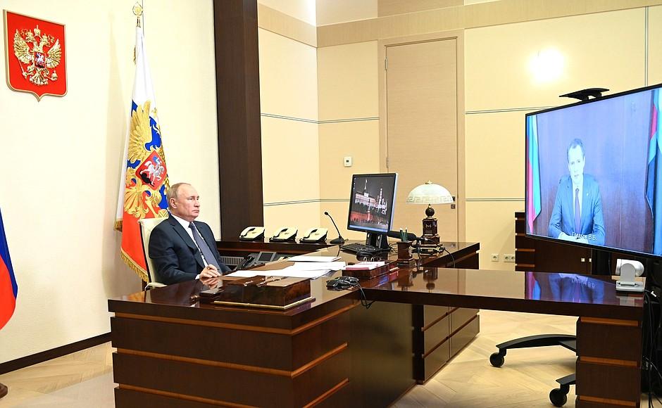 Путин поддержал идею создать в Белгородской области ОЭЗ