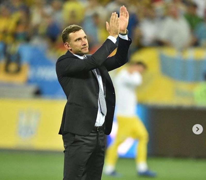 Андрей Шевченко ушел с поста главного тренера сборной Украины по футболу