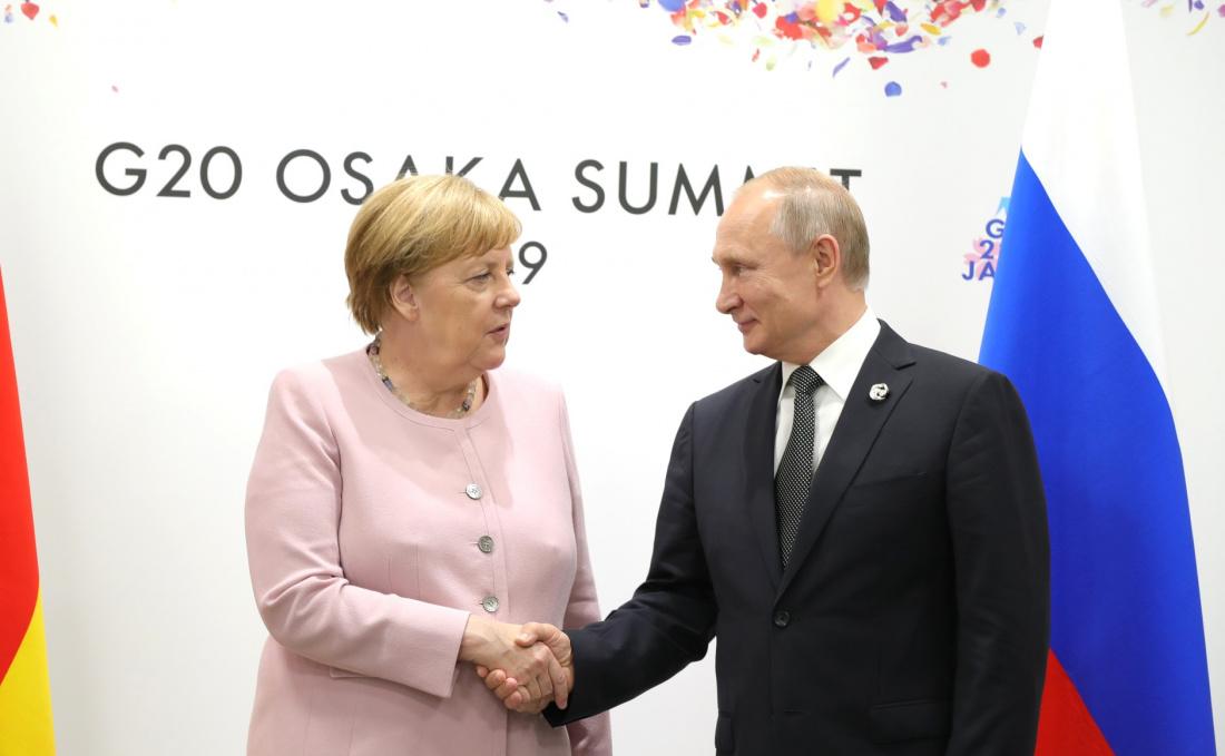 Bloomberg: «Северный поток - 2» является потенциальной победой Путина и ударом по США