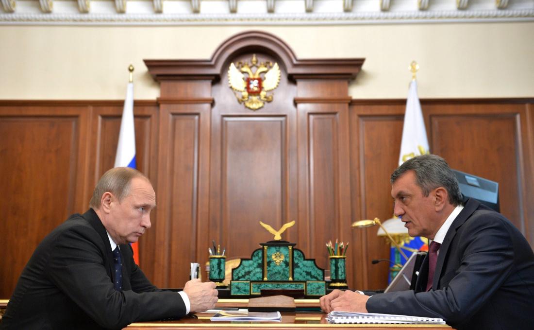 Путин исключил Сергея Меняйло из состава Совбеза РФ