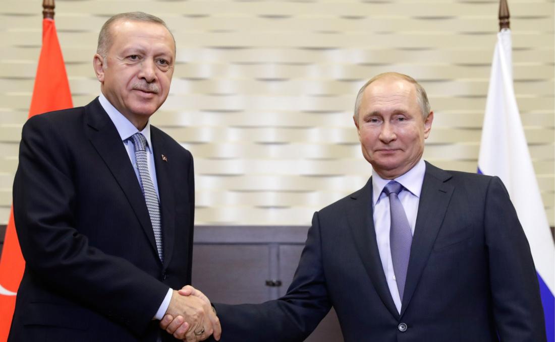 Эрдоган поблагодарил Путина за помощь в борьбе с лесными пожарами