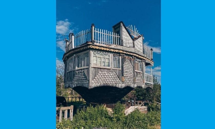 Власти Казани приняли решение сохранить «перевернутый» дом