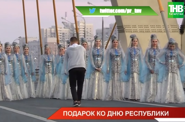 Телеканал ТНВ готовит для татарстанцев масштабный подарок к 30 августа – видео
