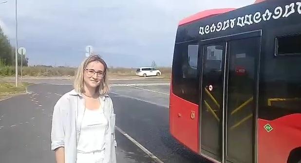 """""""Салават Күпере""""ндә яңа маршрут буенча автобус йөри башлый"""