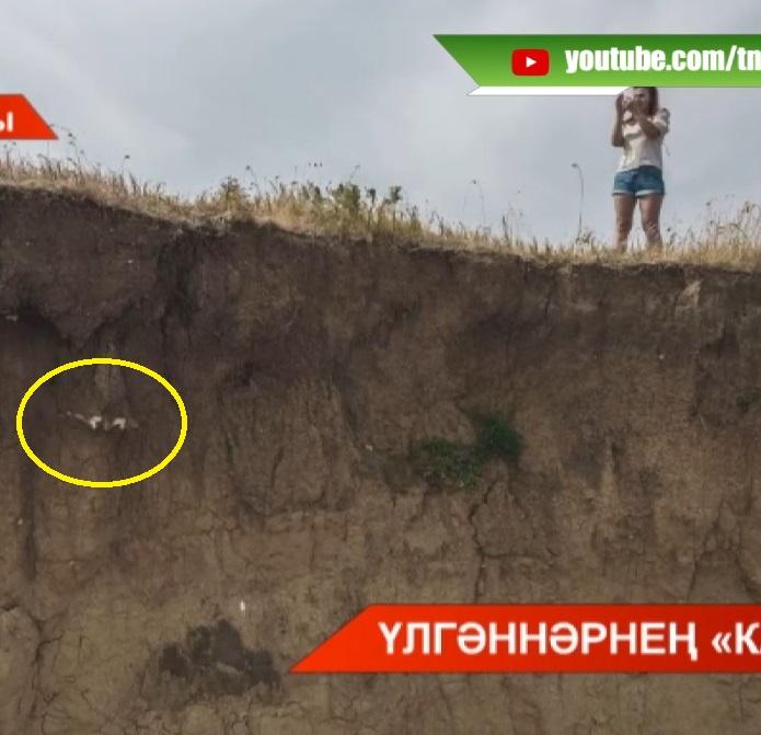 Кама Тамагы районындагы бер ял итү урынында кеше сөякләре чыга башлаган