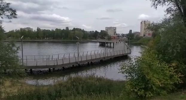 Казанның Кабан күле суы ак төскә кергән
