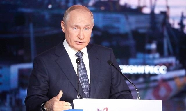 Владимир Путин поручил выделять регионам не менее 8 млрд рублей на лесоохрану