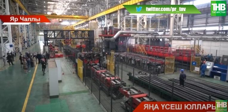 Президент автокалада Камаз заводында булды