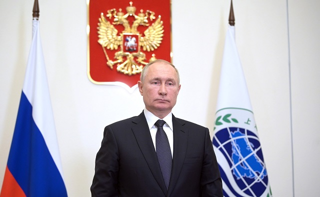 Путин проголосовал на выборах в Госдуму в онлайн формате