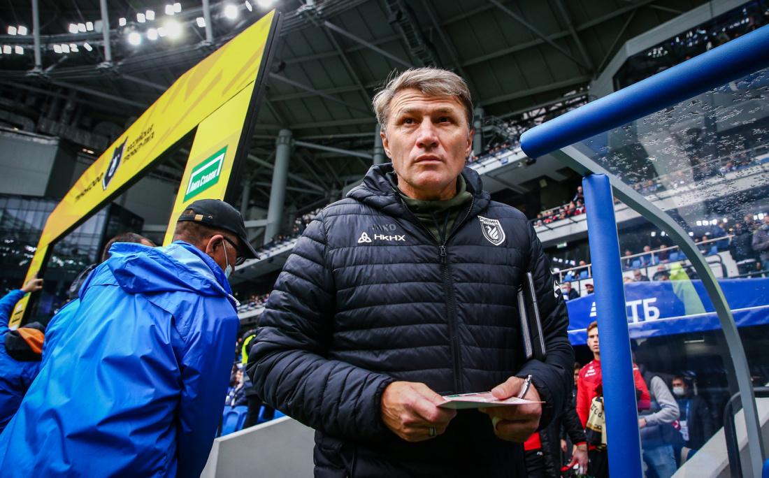 Тренер «Рубина» опроверг игровой спад казанцев после поражения от «Динамо»
