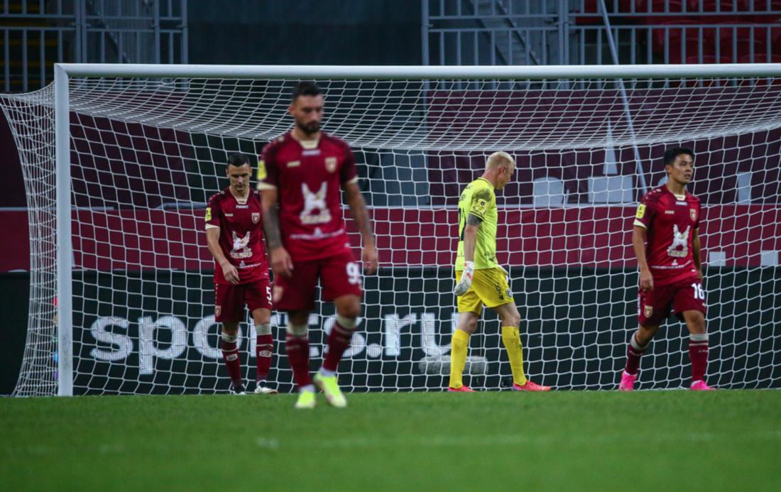 «Рубин» выиграл лишь один матч за последние семь игр