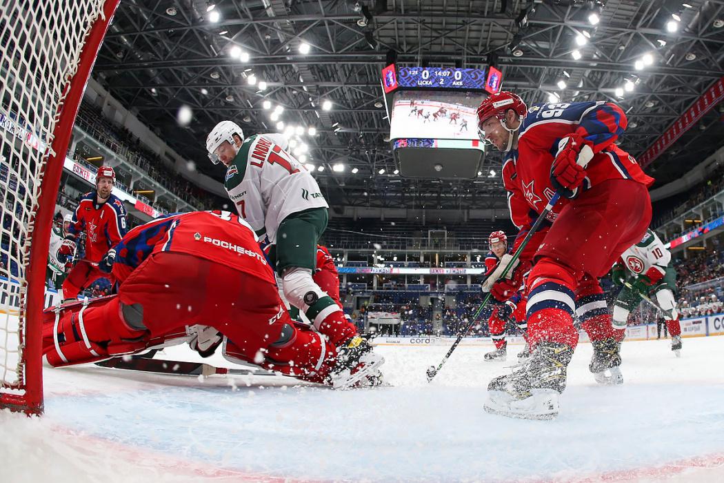 ЦСКА падает на дно: «Ак Барс» был сильнее в битве самых скучных команд топ-16 КХЛ