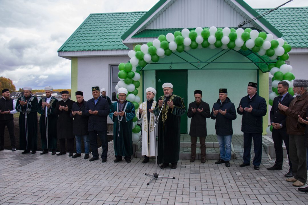 Түбән Кама районында яңа мәчет ачылган
