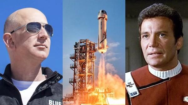 Прямая трансляция: Blue Origin запускает корабль Shepard NS-18 с актером Уильямом Шатнером на борту